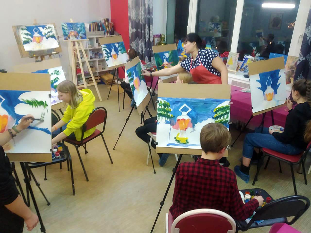 Творческий лагерь во Владимире